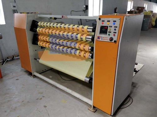 BOPP Self Adhesive Tape Slitting Machine