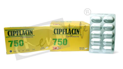 Ciprofloxacin Tablets USP 750 mg