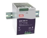 Mean Well WDR & TDR Series DIN Rail Power Supplies