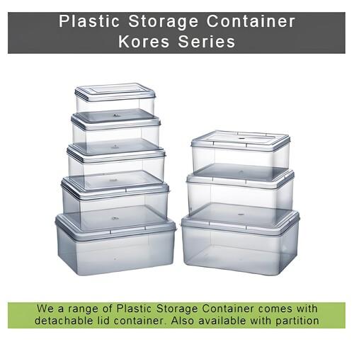 6-Partition Plastic Box