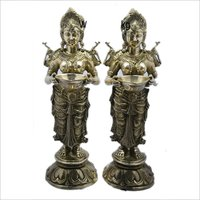 H-30 Brass God Statues