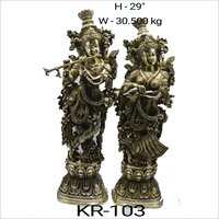 H-29 Brass God Statues