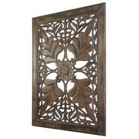 Carved Wooden Wall Panel