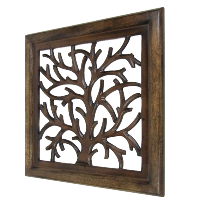 Tree Design Wooden Wall Hanging