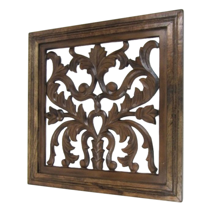 Vines Leaves Design Wooden Wall Hanging Certifications: 1-Iso 9001:2015 - Quality Management System 2-Iso 14001:2015 - Environmental Management System 3-Ohsas 18001:2007 - Occupational Health $ Safety Management System
