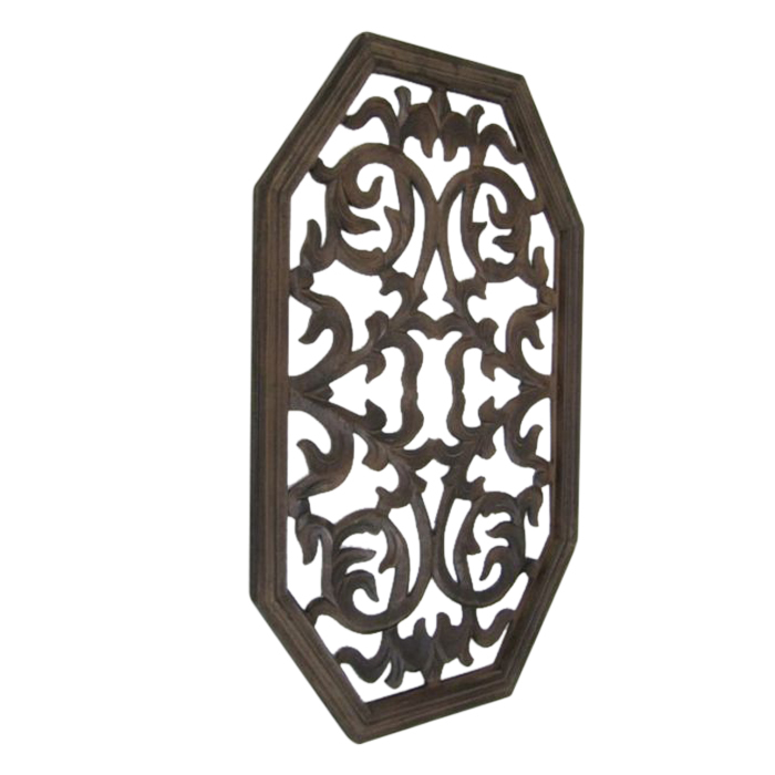 Elegant Wooden Carved Wall Panel Wall Hanging