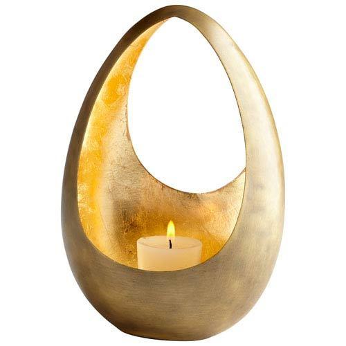 Antique Brass Votive Gold Candle holder