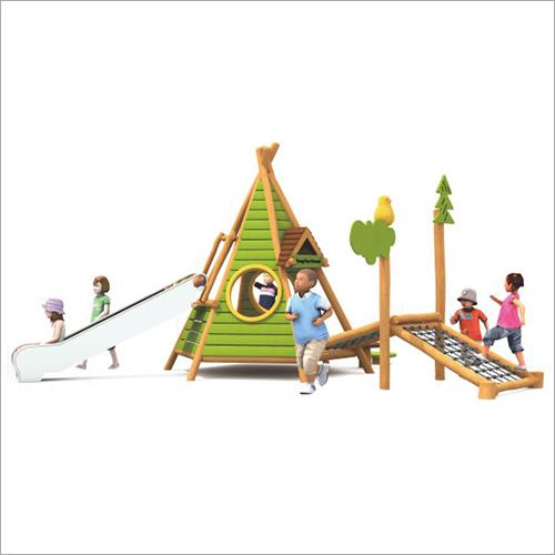 Wooden Kids Playground Multiplay System