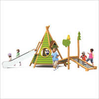 Wooden Kids Playground Multiplay System