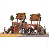 Wooden Outdoor Multi Activity Play System