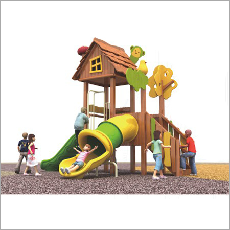 Wooden Kids Playground Equipment