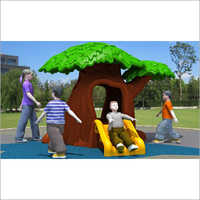 Garden Tree Plastic Slide