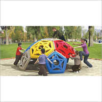 Outdoor Playground Plastic Dome Climber