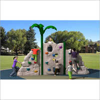 Outdoor Kids Plastic Rock Climbing Wall