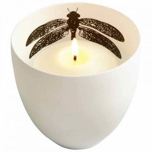 White Large Leblanc Votive Candle Holder