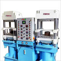 Double Station Hydraulic Rubber Moulding Press