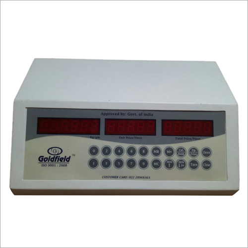 Weighing Scale PRC Indicator