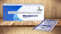 Natural Progesterone (Micronized) 100 Mg & 200 mg Tablets