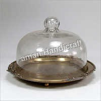 Glass Dome Platter