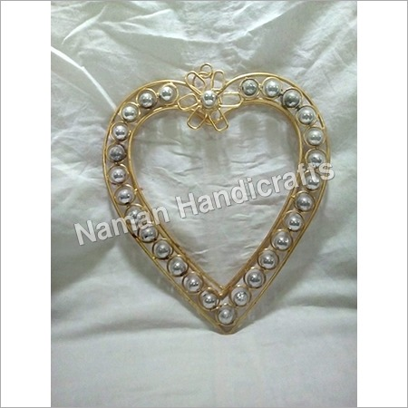 Brass Heart Photo Frame