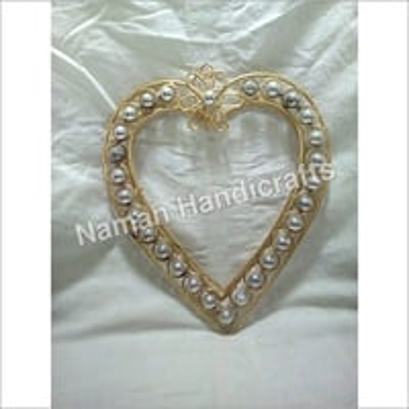 Brass Heart Photo Frame