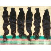 Black Texture Indian Wavy Human Hair Extension