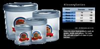 kissan Round Plastic Container