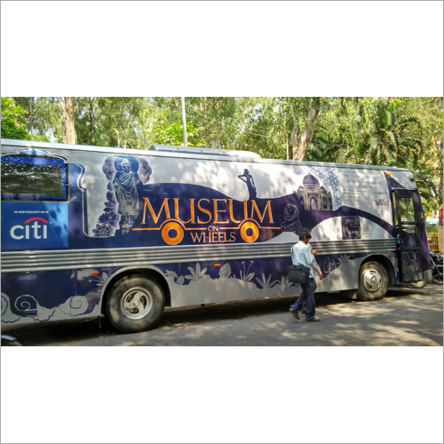 Full Bus Vehicle Wrap