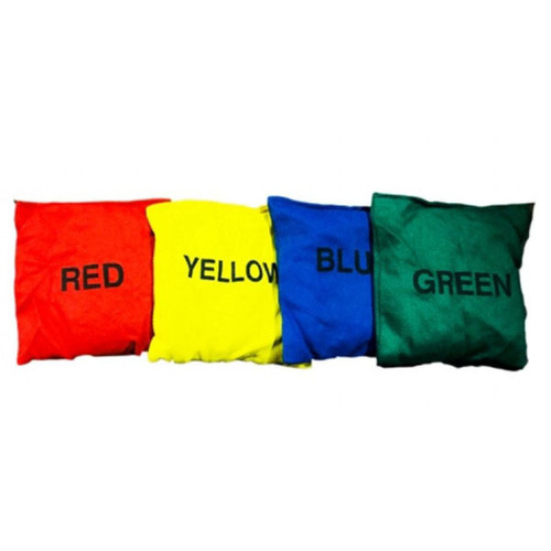 Cotton Bean Bags with Color Name Printing