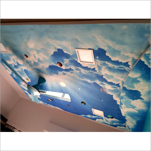 3D Ceiling Wall Decals