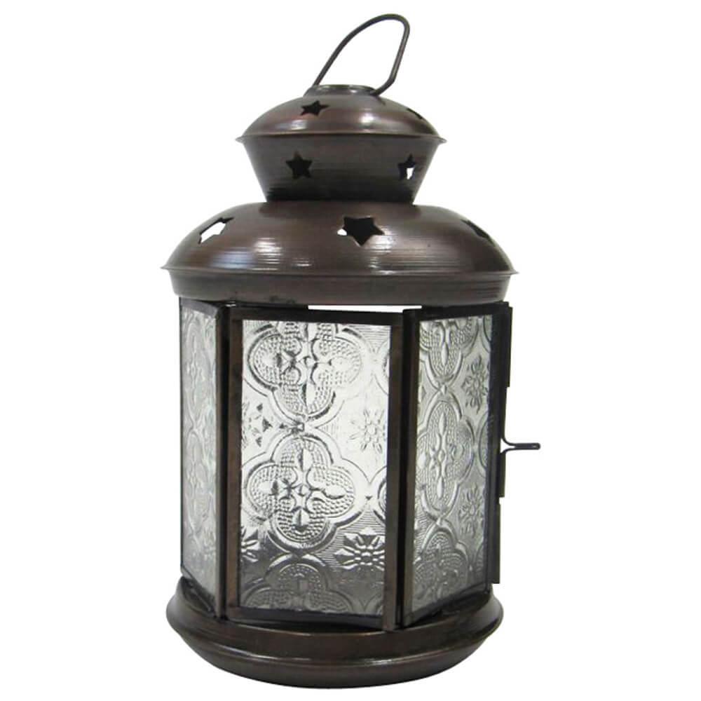 Antique Ornate Candle Lantern
