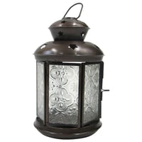 Antique Ornate Candle Lantern