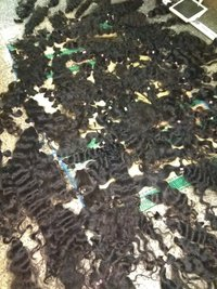 100% Wholesale Bulk Temple Hair 100% Natural Indian Hair