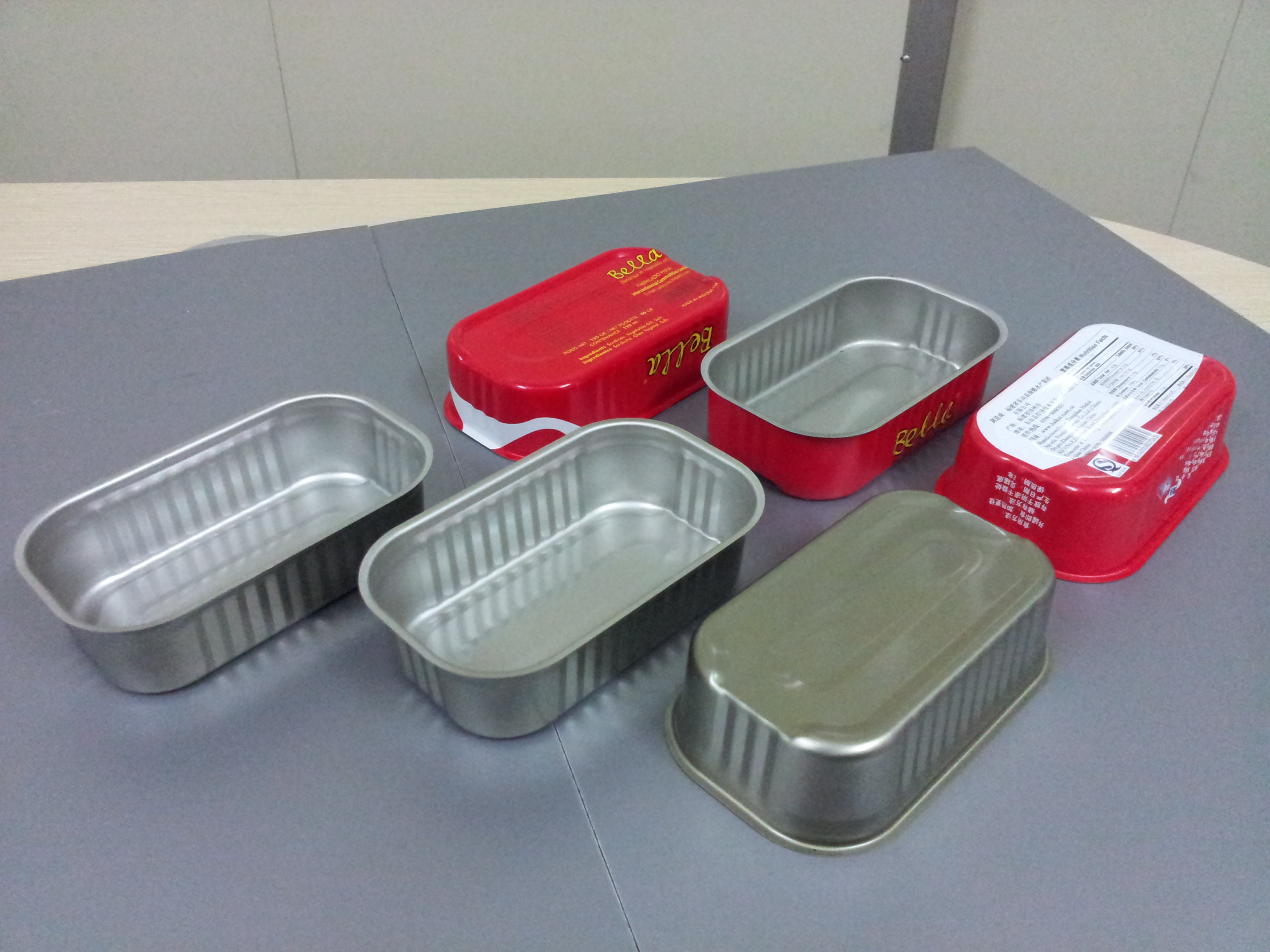 CNC feeding & punching production for DRD cans, ends components