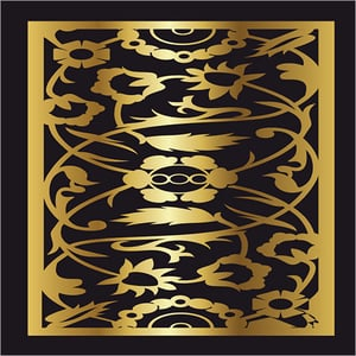 Laser Cut Decorative Wall Grill