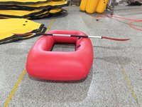 Inflatable row boat rowing canoe