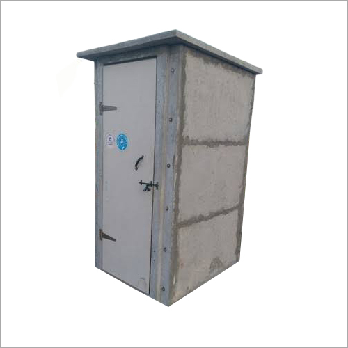 Prefabricated RCC Toilet Cabin