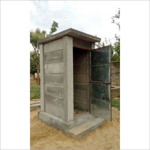 Readymade RCC Toilet Cabin