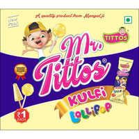 Kulfi With Lollipop