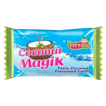 Test Coconut Flavoured Candy