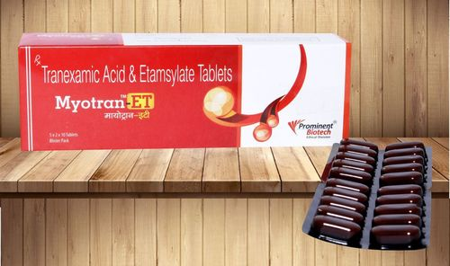 Tranexamic Acid 250 Mg Ethamsylate 250 mg Tablets