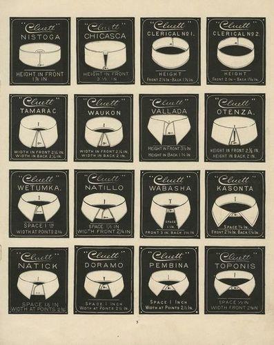 Various collar shapes