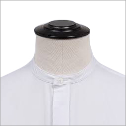 Mandarin White Shirt Collar