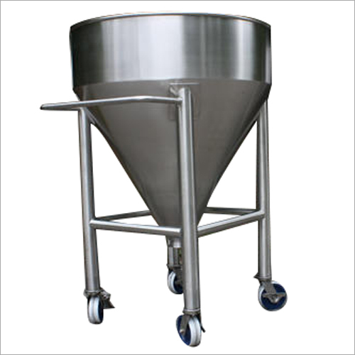 Stainless Steel Portable Hopper