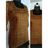 Ladies Cotton Designer Top