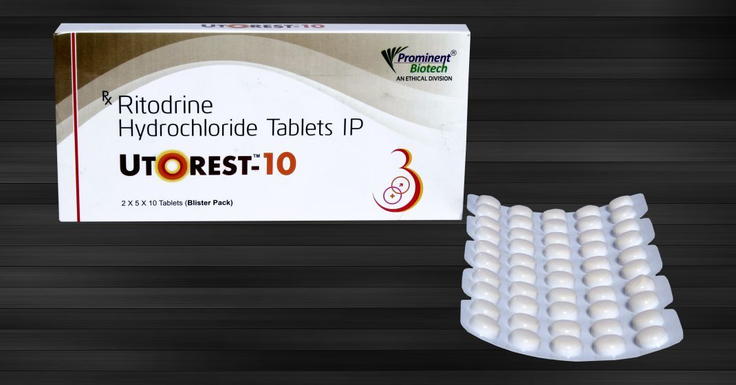 Ritodrine Hydrochloride 10 Mg