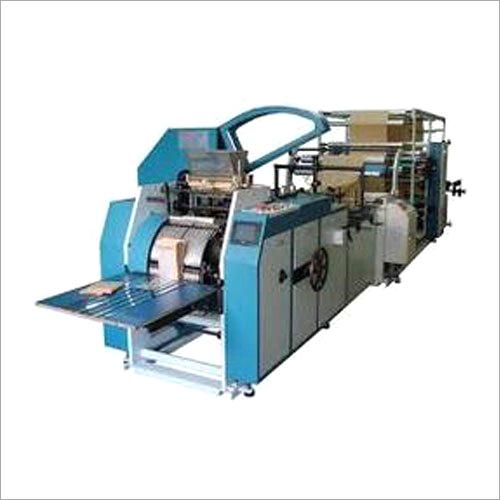 Shopping Paper Bag Making Machine