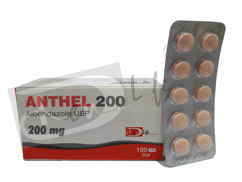 ALBENDAZOLE TABLETS USP 200mg