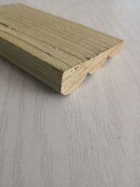 solid hardwood baseboard, skirting / moulding