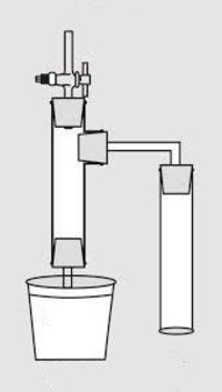 Apparatus for experiments on root pressure (laboratory Glassware)